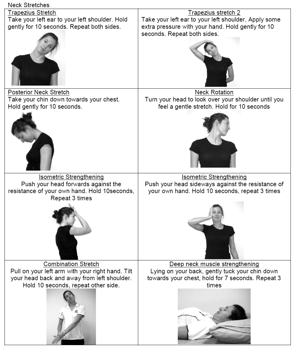 neck exercise